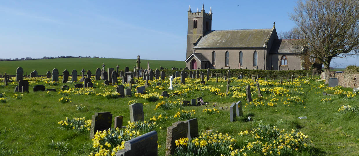 St Michaels church cemetery Rampside Furness stories behind the stones Rod white History